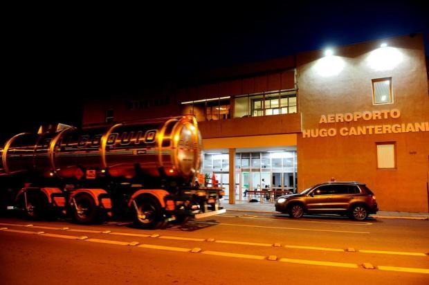 Aeroporto de Caxias do Sul recebe querosene de aviação Lucas Amorelli/Agencia RBS