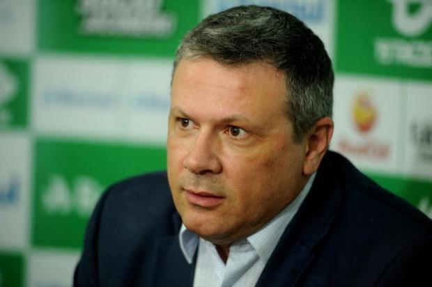 """""""Os manifestantes não deixam comercializar"""", diz presidente do Sindsul sobre bloqueio em postos de gasolina em Caxias Diogo Sallaberry/Agencia RBS"""