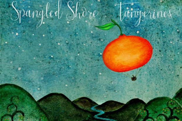 """3por4: Caxiense Spangled Shore lança disco """"Tangerines"""" Arte de Giovana Mazzochi e Douglas Trancoso/Divulgação"""