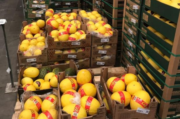 Produtores de frutas da Serra tentam levar 15 caminhões à Ceasa Divulgação/Divulgação