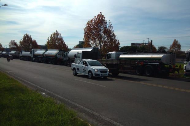Comboio com 22 caminhões-tanque deve abastecer postos de Caxias do Sul nesta tarde Evandro da Silva Flores / divulgação/divulgação