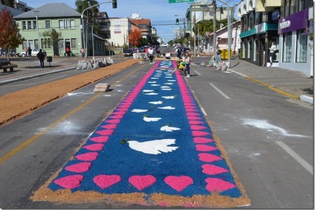 Corpus Christi na Serra: mesmo com paralisação, municípios celebram data religiosa Fábio Carnesella / Divulgação/Divulgação