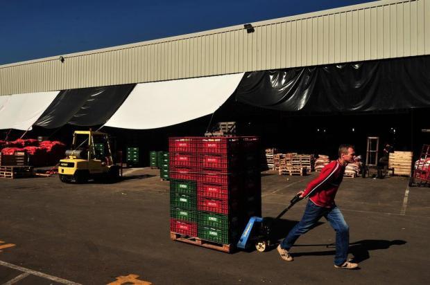 Preço dos alimentos chegou a duplicar de uma semana para outra na Ceasa Serra Diogo Sallaberry/Agencia RBS