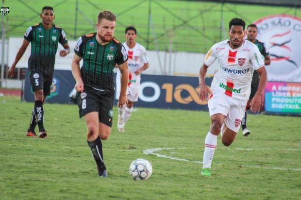 Maringá vê Caxias como favorito no confronto da segunda fase Rodrigo Araújo/Maringá,divulgação