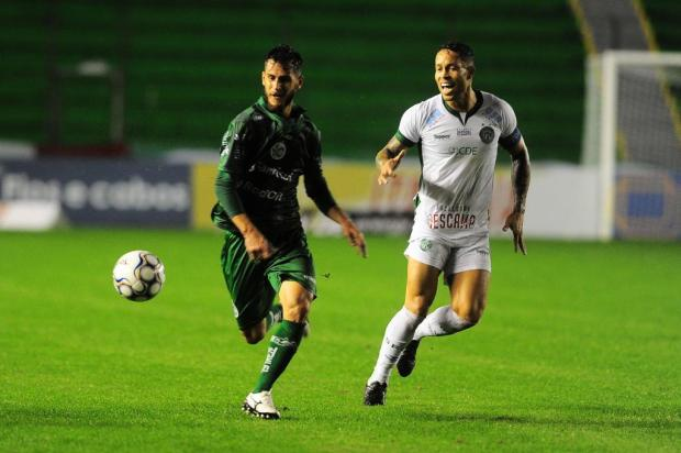 Com gol de Fellipe Mateus, Juventude vence o Guarani no Alfredo Jaconi Porthus Junior/Agencia RBS