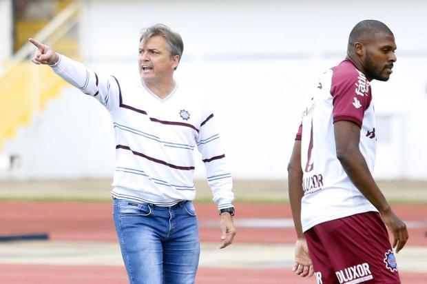 Winck valoriza atuação do Caxias e minimiza erros após o empate em Maringá João Paulo Santos/Especial