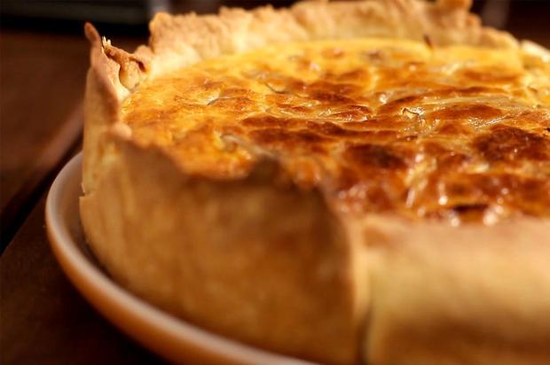 Na cozinha: quiche de queijo e cebola caramelada é uma boa opção para o jantar Tastemade / Divulgação/Divulgação