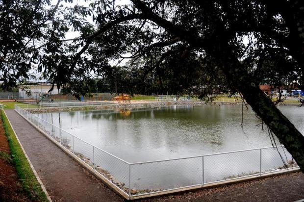 UCS finaliza revitalização de lago no campus-sede, em Caxias Lucas Amorelli/Agencia RBS