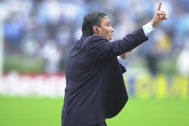 No Grêmio, em 2001, técnico da Seleção ganhou a Copa do Brasil e o reconhecimento nacional Paulo Franken/Agencia RBS