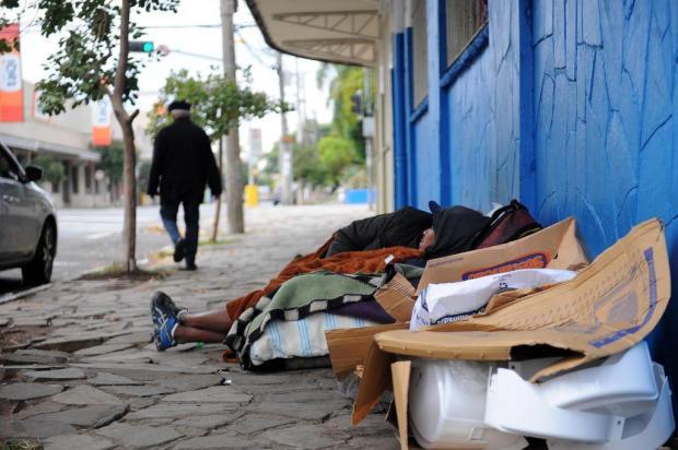 Caxias do Sul possui cerca de 400 pessoas em situação de rua Felipe Nyland/Agencia RBS