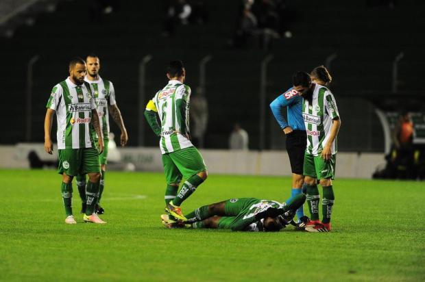 Centroavante Elias será desfalque do Juventude contra o Londrina Porthus Junior/Agencia RBS