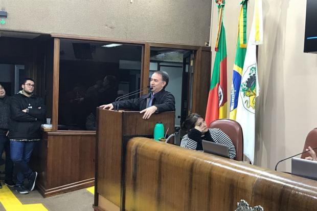 Vereador Chico Guerra comprova ameaças de presidente da Amob Cânyon André Tajes / Agencia RBS/Agencia RBS