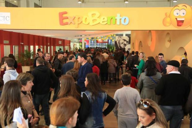 Mais de 70 mil pessoas são esperadas no primeiro fim de semana de Expobento Divulgação/