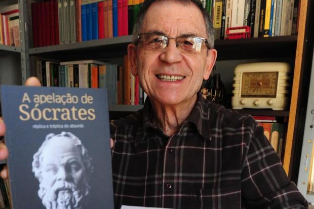"""Agenda: Órbita Literária desta segunda debate sobre a obra """"A Apelação de Sócrates"""", em Caxias Roni Rigon/Agencia RBS"""