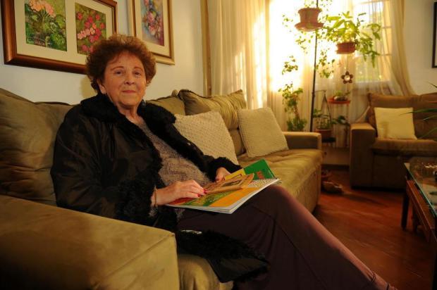 Lourdes Curra autografa quinta, em Caxias, livro sobre a saga de um xavante Felipe Nyland/Agencia RBS