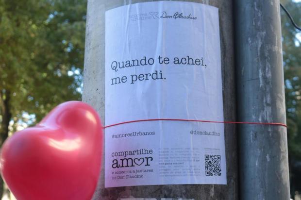 3por4: Don Claudino promove campanha Amores Urbanos em Caxias Aeroplano/Divulgação