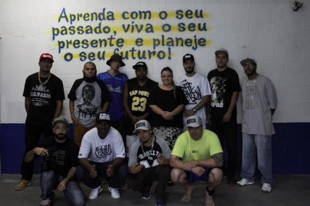 3por4: Confira clipe de rap gravado no Instituto Penal de Caxias Jaison Jouber/Divulgação