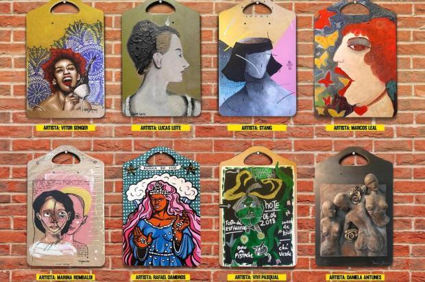 3por4: Alouca Café promove leilão com obras de artistas caxienses Reprodução/Divulgação
