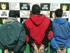 Trio é preso após manter idoso refém em Campestre da Serra Brigada Militar  / Divulgação/Divulgação