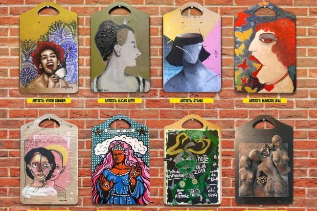 Agenda: Oito artistas locais participam do Leilão da Alouca Café nesta quarta, em Caxias Reprodução/Divulgação
