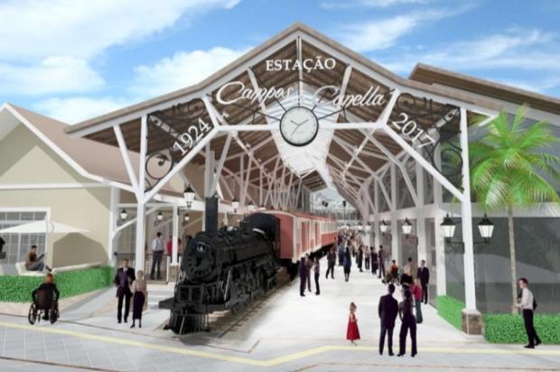 Canela terá restaurante dentro de trem Gianne de Lima Poletto/Divulgação
