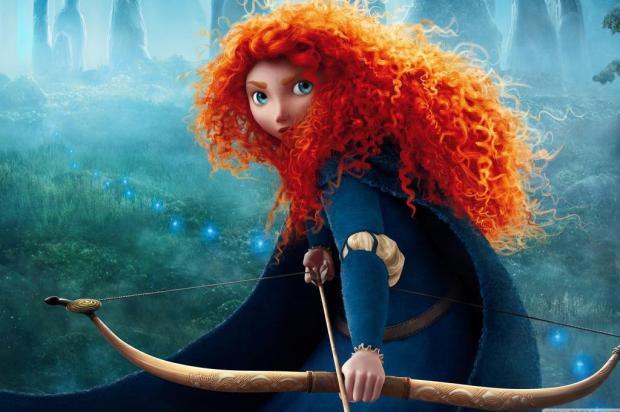 """Agenda: Cine Pathwork exibe a animação """"Valente"""" nesta quinta, em Caxias Pixar/Divulgação"""