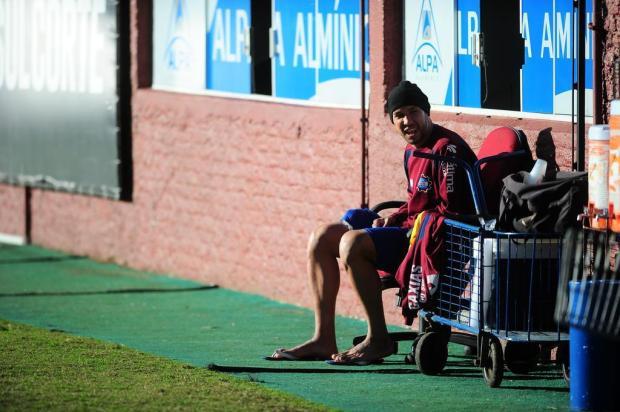 Zagueiro Júnior Alves é a dúvida do Caxias para encarar o Uberlândia Porthus Junior/Agencia RBS