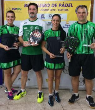 Duplas caxienses levam o título na terceira etapa do campeonato nacional Arquivo Pessoal/