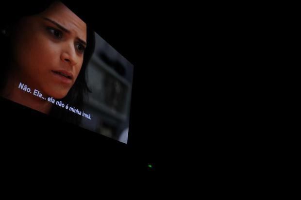 Filmes com legendas descritivas para surdos é realidade em salas de cinema de Caxias Lucas Amorelli/Agencia RBS