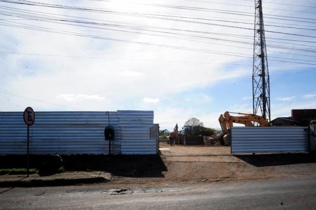 Obras no terreno que vai receber a Havan em Caxias estão embargadas Marcelo Casagrande / Agência RBS/Agência RBS
