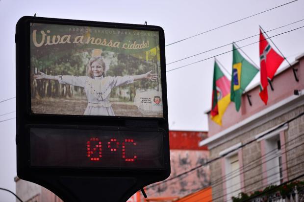 Temperaturas baixas e ausência de chuva: veja a previsão para o final de semana na Serra Artur Alexandre / Especial/Especial