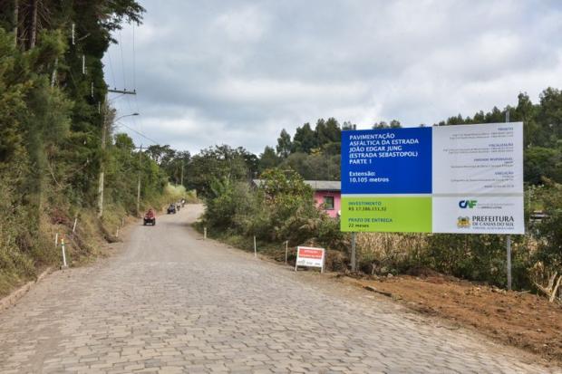 Obras entre Santa Lúcia e Sebastopol começam nesta segunda-feira Mateus Argenta  / Divulgação Prefeitura /Divulgação Prefeitura