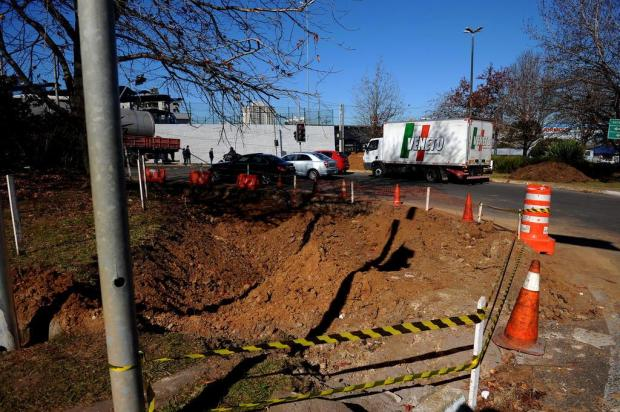 Obra vai alargar BR-116 no bairro Lourdes, em Caxias Lucas Amorelli/Agencia RBS