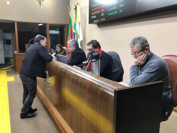 Câmara de Vereadores rejeita quarto pedido de impeachment do prefeito de Caxias do Sul André Tajes / Agência RBS/Agência RBS