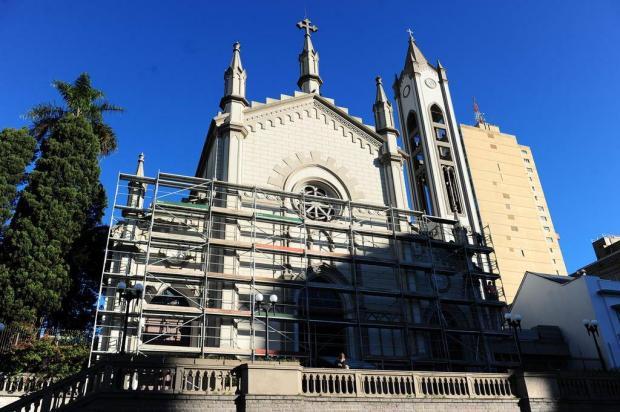 Catedral Diocesana de Caxias recebe nova pintura Porthus Junior/Agencia RBS