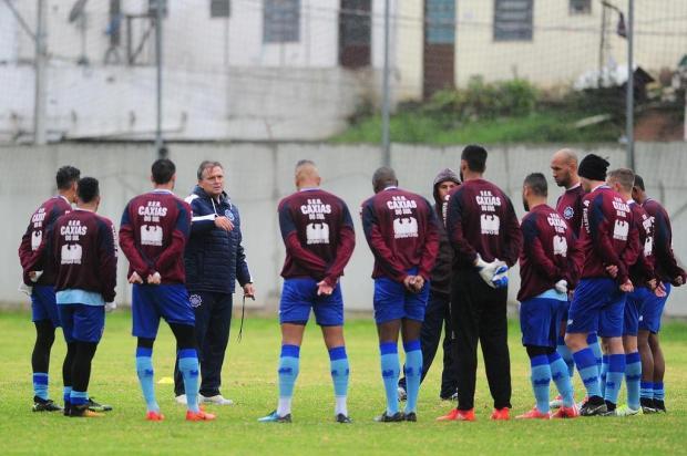 Caxias luta contra a ansiedade pré-jogo decisivo pelas oitavas contra o Uberlândia Porthus Junior/Agencia RBS