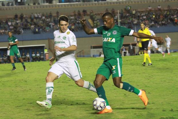 Juventude joga bem longe de casa e conquista um ponto contra o Goiás Rosiron Rodrigues / Goiás, Divulgação/Goiás, Divulgação