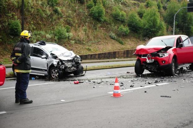 Homem morre em acidente na RSC-453 em Caxias do Sul Diogo Sallaberry/Agencia RBS