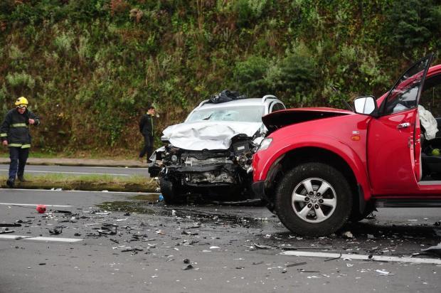 Distração com celular teria sido causa de acidente com morte em Caxias Diogo Sallaberry/Agencia RBS