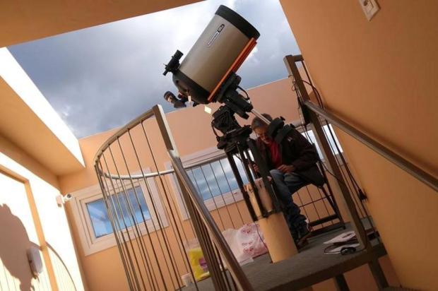 São Francisco de Paula vai inaugurar observatório astronômico em julho Ricardo Hubba/Divulgação