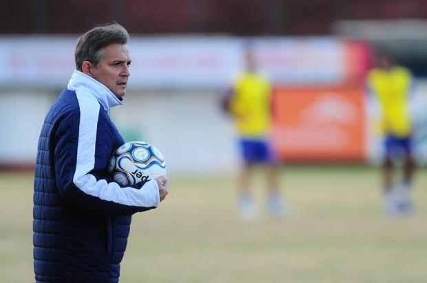 Técnico do Caxias confirma manutenção do time para encarar o Uberlândia Porthus Junior/Agencia RBS