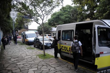 Prefeitura de Caxias vai licitar transporte para estudantes que estão fora da escola (Marcelo Casagrande/Agencia RBS)