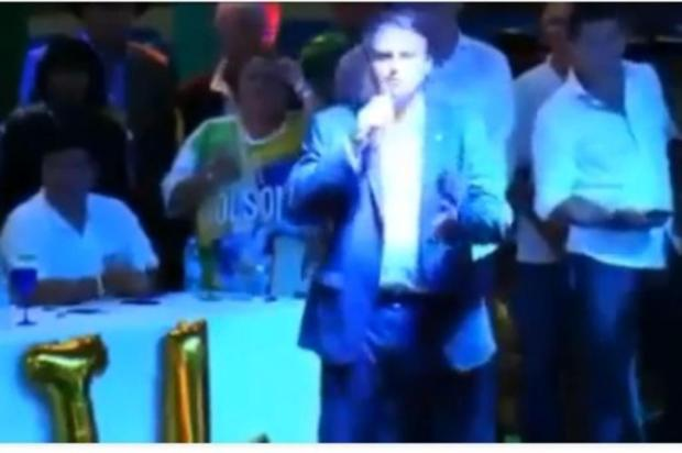 Bolsonaro garante que irá aos debates Facebook/Reprodução