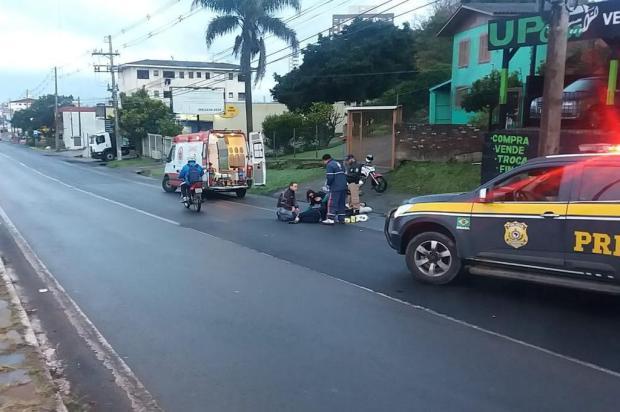 Adolescente de 13 anos é atropelada na BR-116, em Caxias PRF/Divulgação
