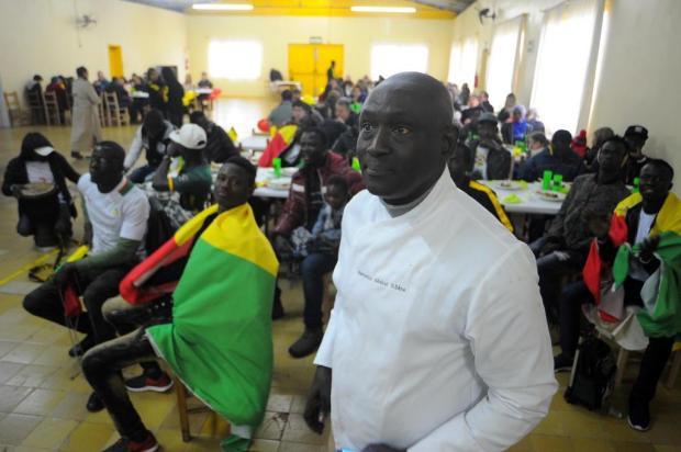 Chef do Senegal dá dica de receita para o almoço da classificação para as oitavas Felipe Nyland/Agencia RBS