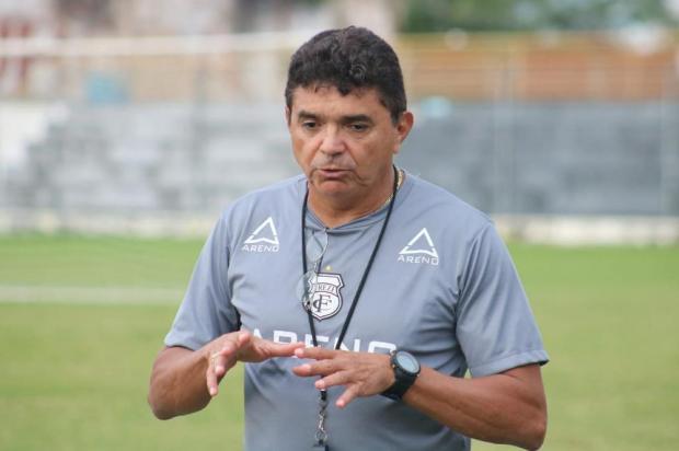 Técnico do Treze vê time com condições de buscar o acesso contra o Caxias Treze/Divulgação