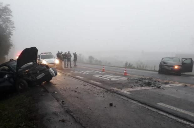 Homem morre em acidente envolvendo três veículos na ERS-129, em Guaporé Pelotão Rodoviário de Casca/Divulgação