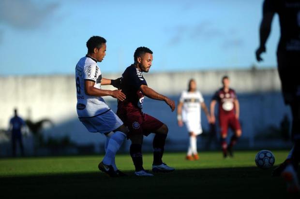 Jogadores do Caxias destacam situação reversível após a derrota na Paraíba Lucas Amorelli/Agencia RBS