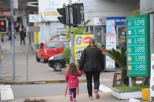 Gasolina volta a subir em Caxias do Sul Porthus Junior/Agencia RBS