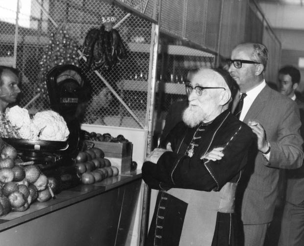 Memória: inauguração do Mercado Público de Caxias do Sul em 1968 Studio Geremia / Acervo Arquivo Histórico Municipal João Spadari Adami, divulgação/Acervo Arquivo Histórico Municipal João Spadari Adami, divulgação